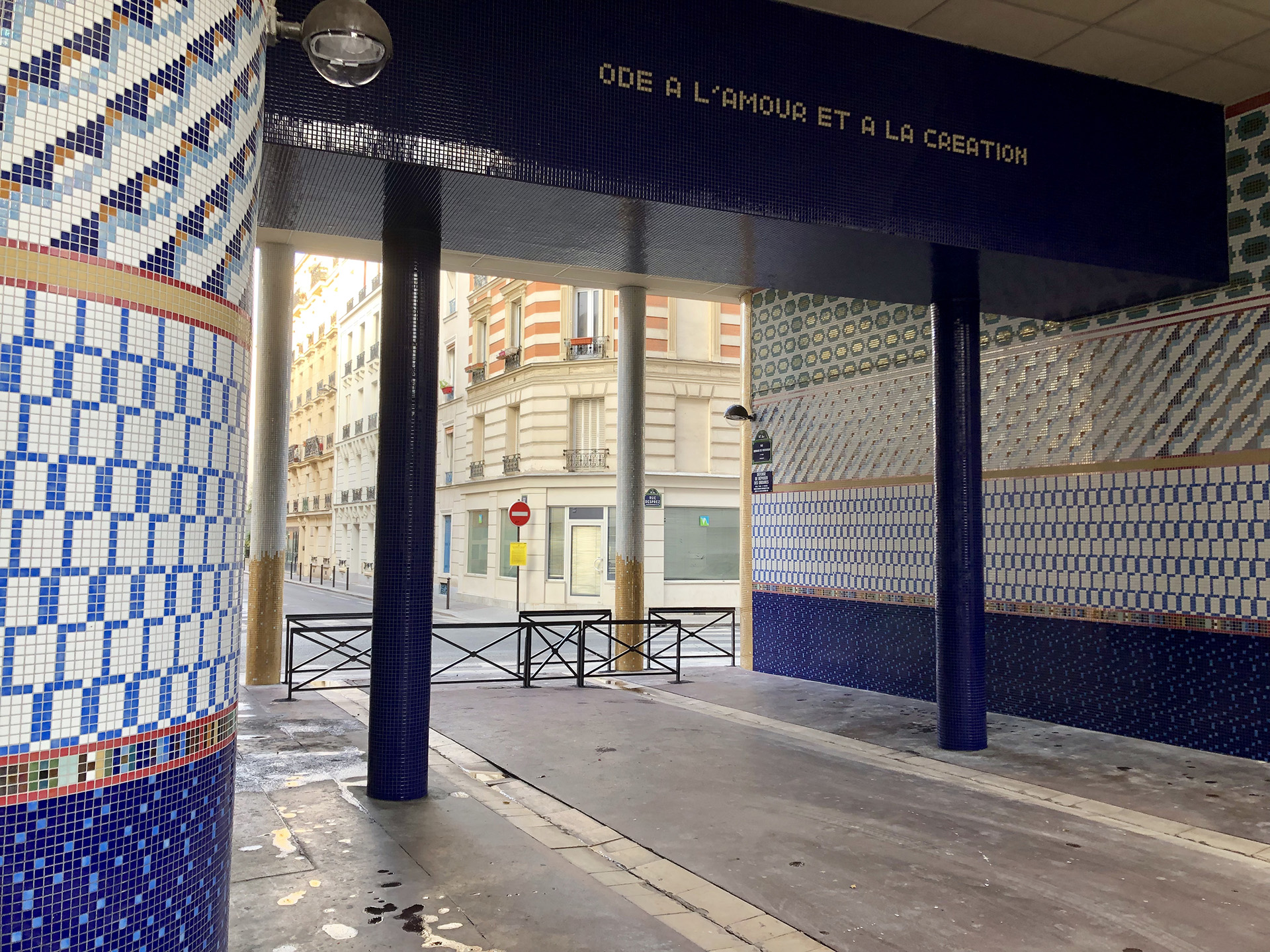 Génie du lieu_rue Bernard de Ventadour Paris_Embellir Paris_Nacarat Design