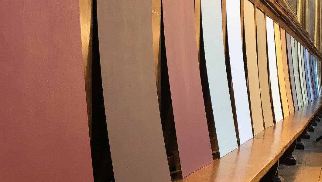 Installation Nacarat Desing_Genie-du-lieu-Toulouse_Chapelle_des_Carmélites
