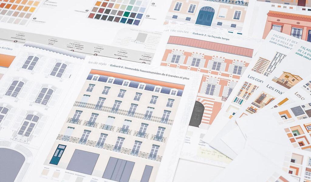 Charte couleur Ville de Toulouse-Nacarat Color Design