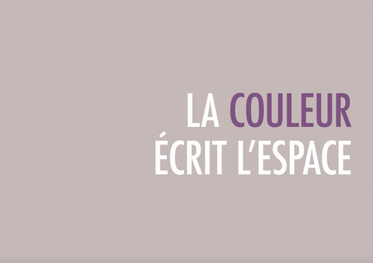 La Couleur écrit l'Espace - Nacarat Design Couleur
