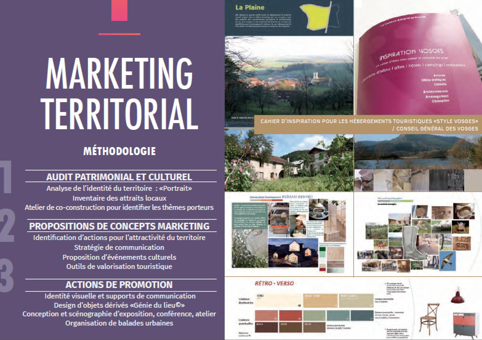 Nacarat design couleur marketing territorial