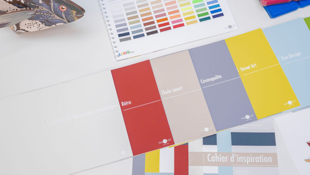 Design Couleur et finition pour Ludoparc_Nacarat Color Design