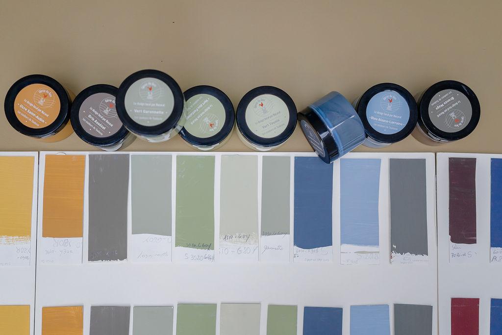 Création de gammes - Couleur et Industrie - Nacarat Color Design