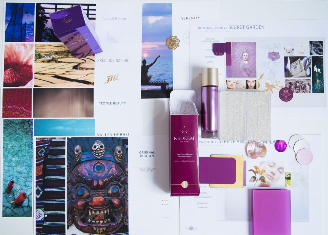 Packaging - Nacarat Color Design