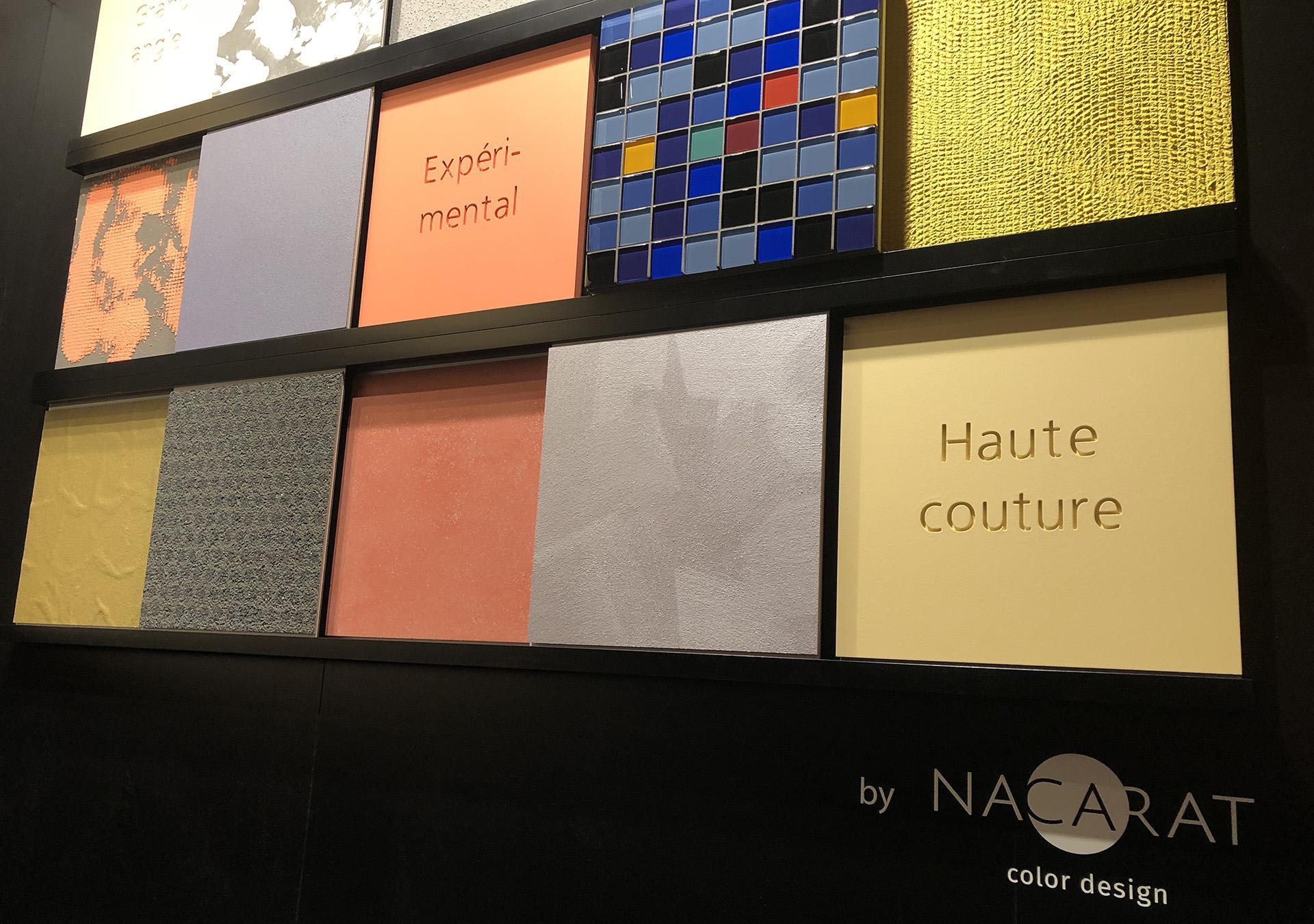 Scénographie par Nacarat Color Design