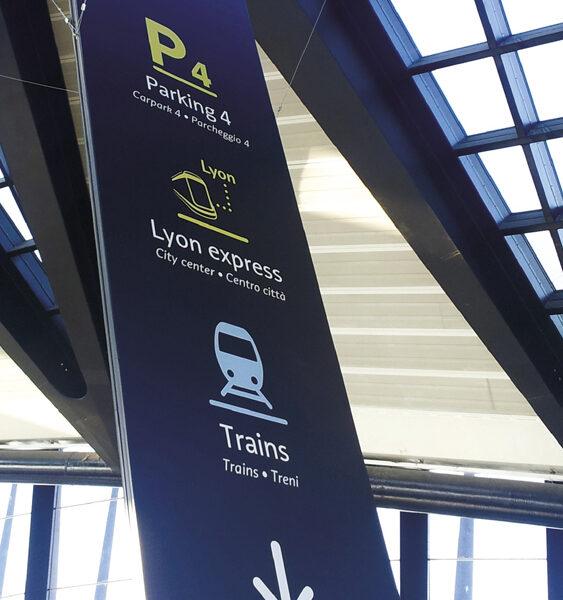 Refonte de la signalétique de la SNCF
