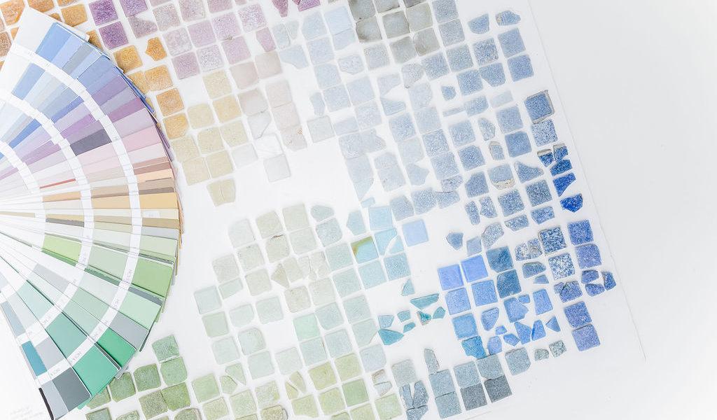 ville de Quetigny - charte couleur et matériaux par nacarat color design